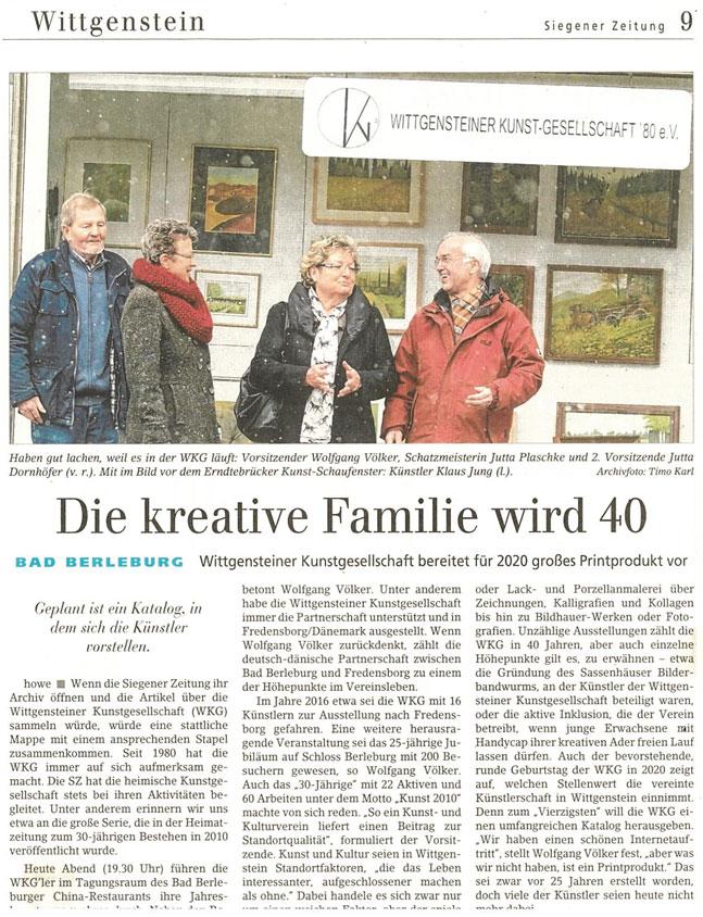Siegener Zeitung vom 6.2.2019