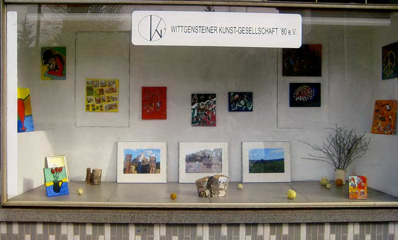 Kunstschaufenster in Erndtebrück