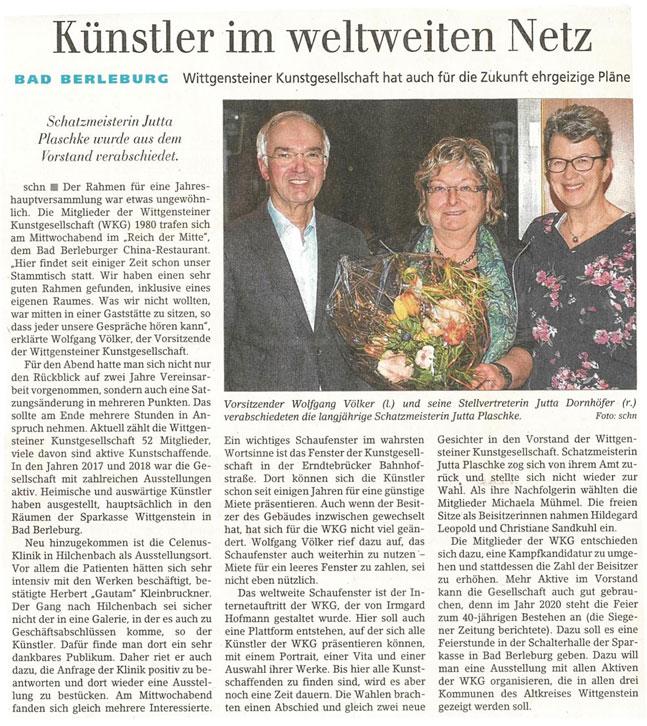 Siegener Zeitung vom 7.2.2019