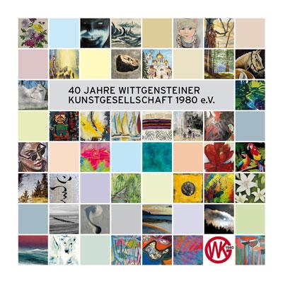 Der Katalog zum 40-jährigen Jubiläum der WKG